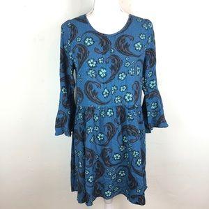 For Love & Lemons Bell Blue Baby Doll Dress size M